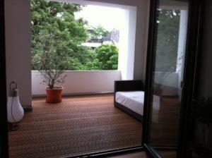 Bild von Terrasse aus Holz